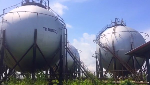 In visita alla Thanlyin Refinery  – Myanmar