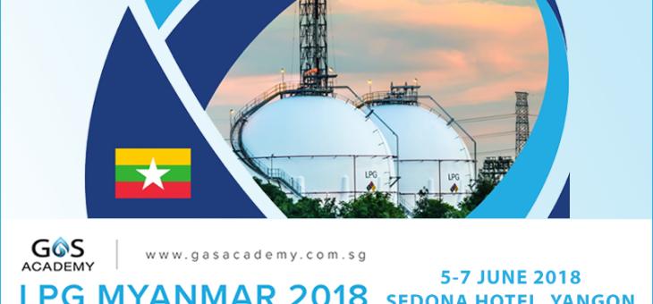 LPG Myanmar 2018– 5/7 giugno 2018