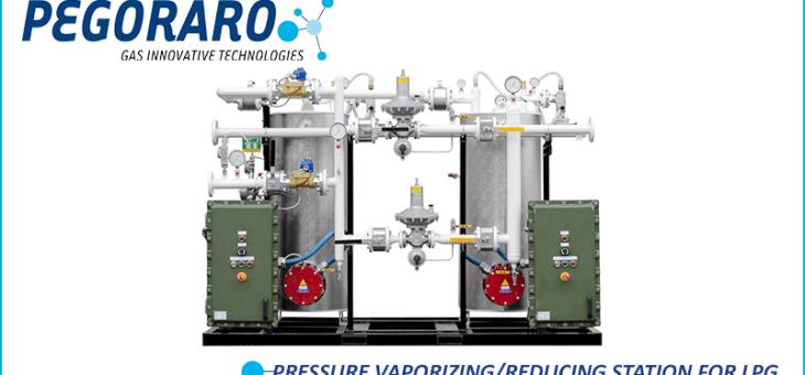 PRESSURE VAPORIZING/REDUCING STATION FOR LPG
