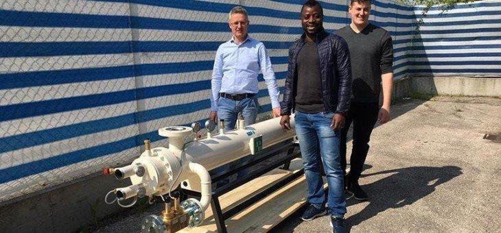 Vaporizzatore gpl da 2000 kg/h