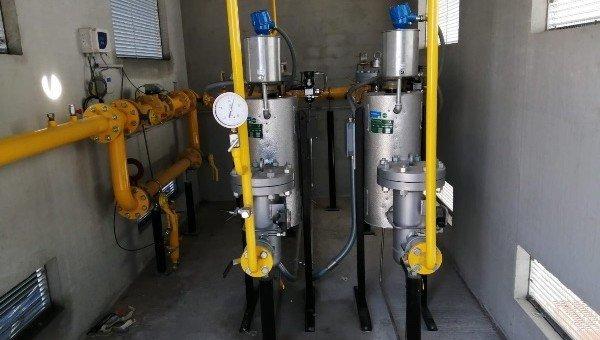 CASE HISTORY: Cabina Remi di filtraggio, preriscaldo, riduzione e misura per gas metano