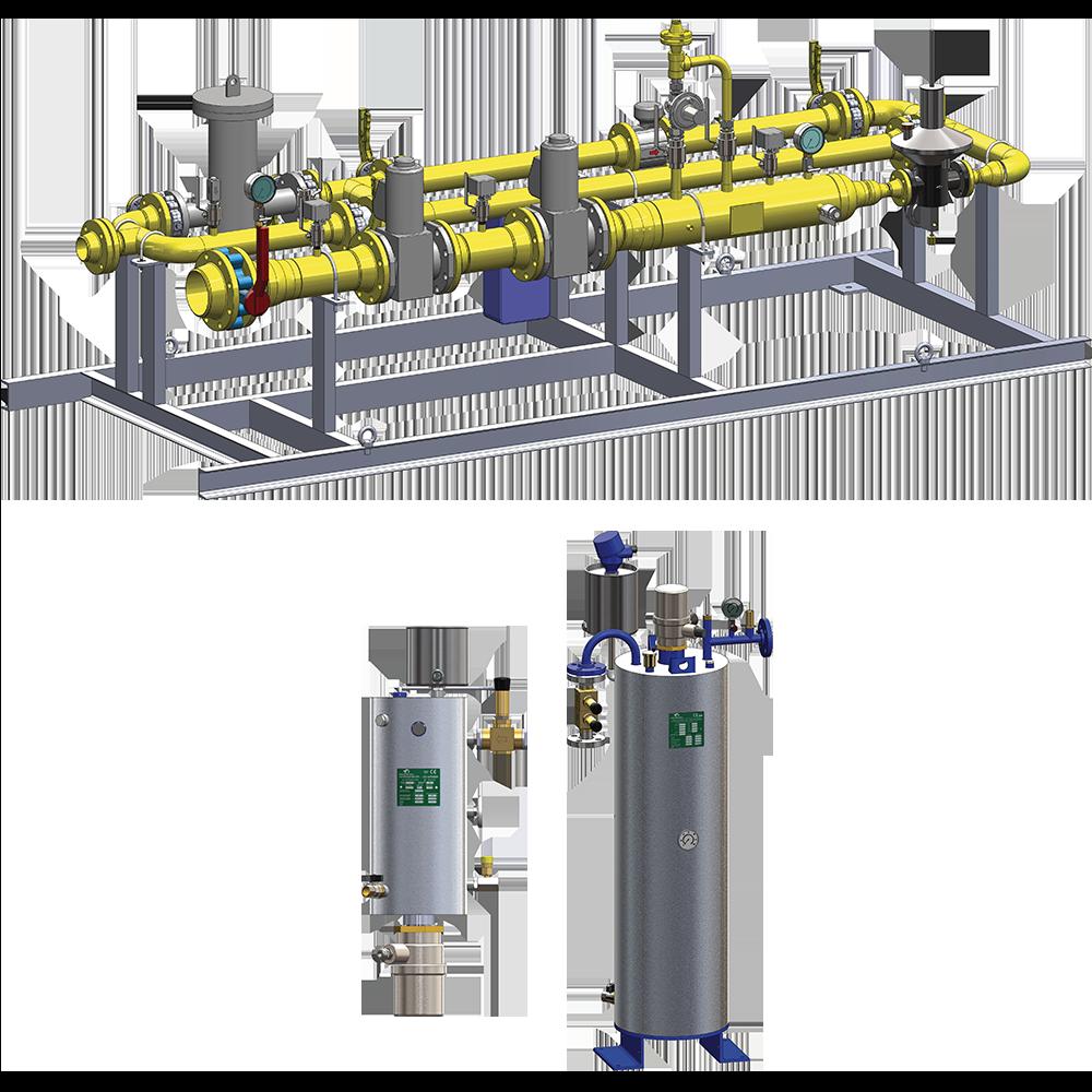 Pegoraro Gas Techologies - Apparecchiature per il trattamento di gas metano, GPL, gas verdi